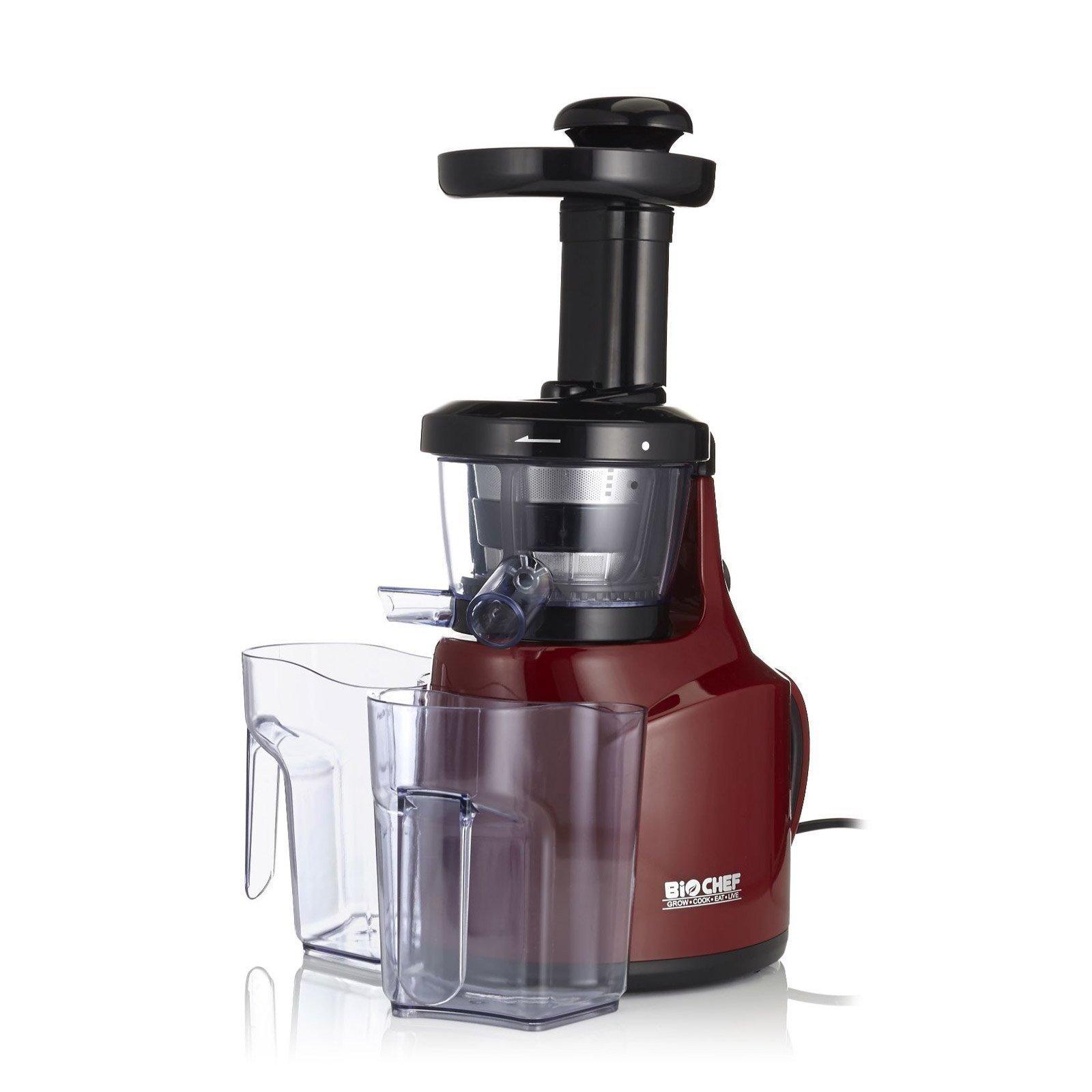 Panasonic Extracteur De Jus Slow Juicer Red : Extracteur de Jus BioChef Compact vitality4Life