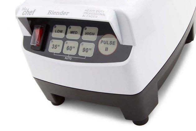 mixeur biochef haute performance bouton