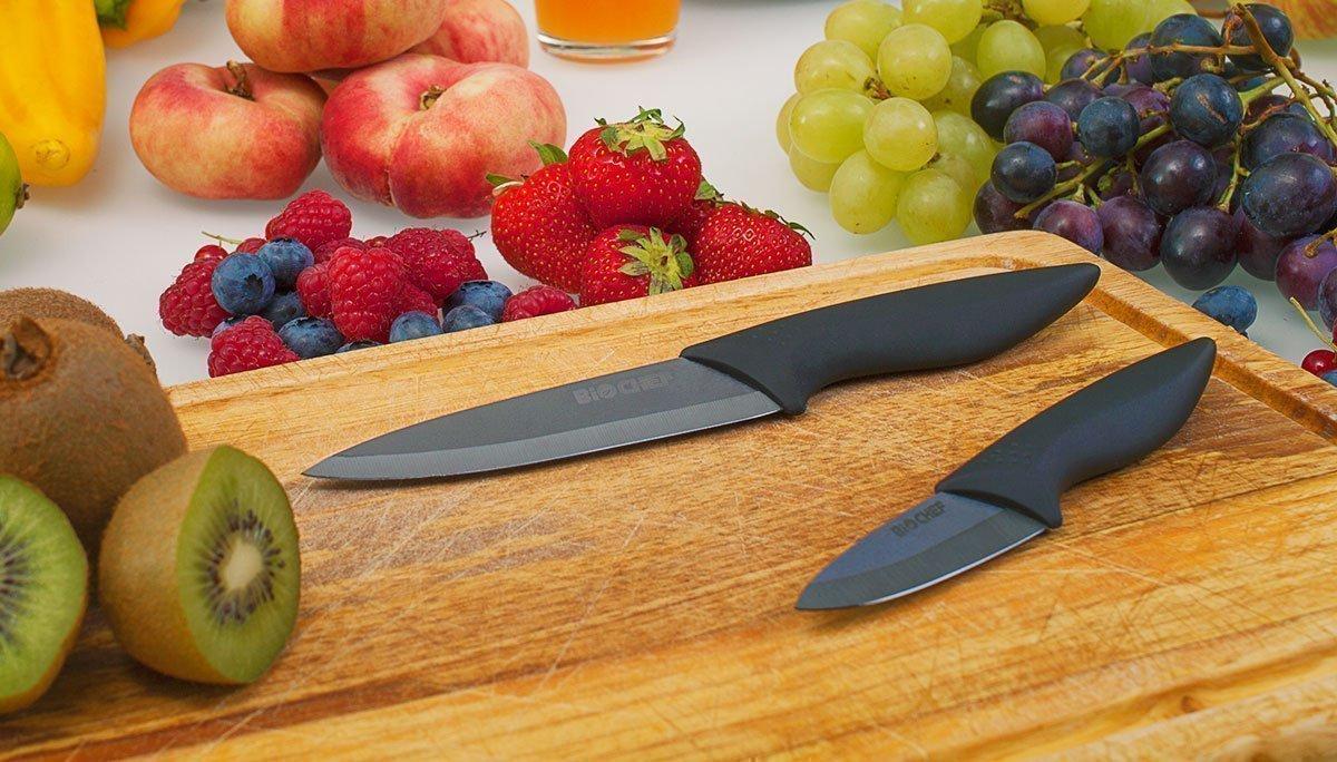 set de deux couteaux ceramique biochef