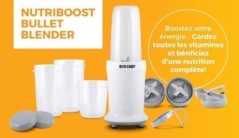 BioChef Nutriboost Bullet Blender