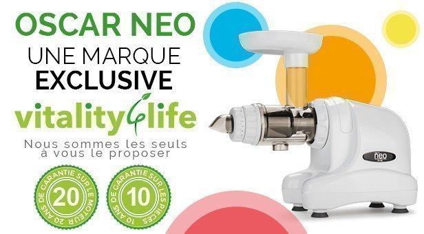 Oscar Neo Xl Whole Slow Juicer Test : Bienvenue dans l Espace vitality 4 Life France