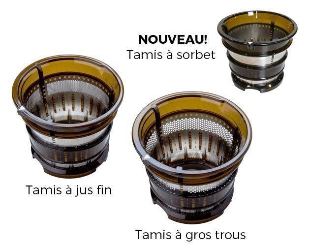 Oscar Neo XL Whole Slow Juicer Tamis