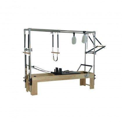 Pilates Reformer avec Table de Trapèze Complète