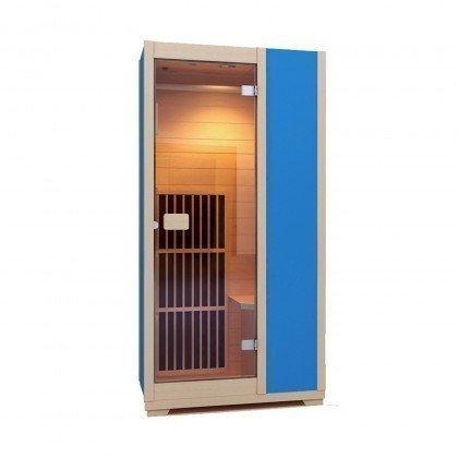 Sauna Infrarouge Zen 'Brighton' ZIV015 - Bleu