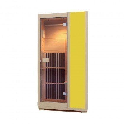 Sauna Infrarouge Zen 'Brighton' ZIV015 - Jaune