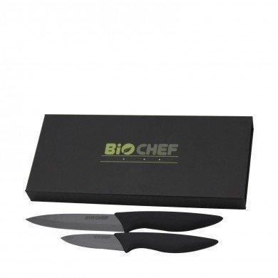 Set de Couteaux en Céramique BioChef - Noir