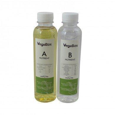 Vegebox™ - Solution Nutritive A & B - Lot de 300ml