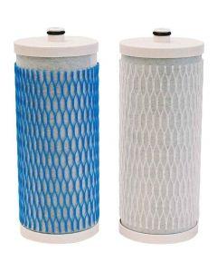 Cartouches de remplacement pour Aquasana filtre modèle comptoir